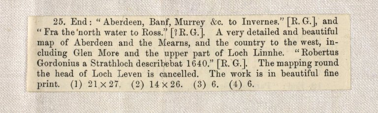 Aberdeen, Banf, Murrey &c. to Invernes. Fra the north water to Ross. [2 of 2]