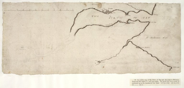 [An outline map of the Firth of Tay and the coast to Fife-ness]. [1 of 1]