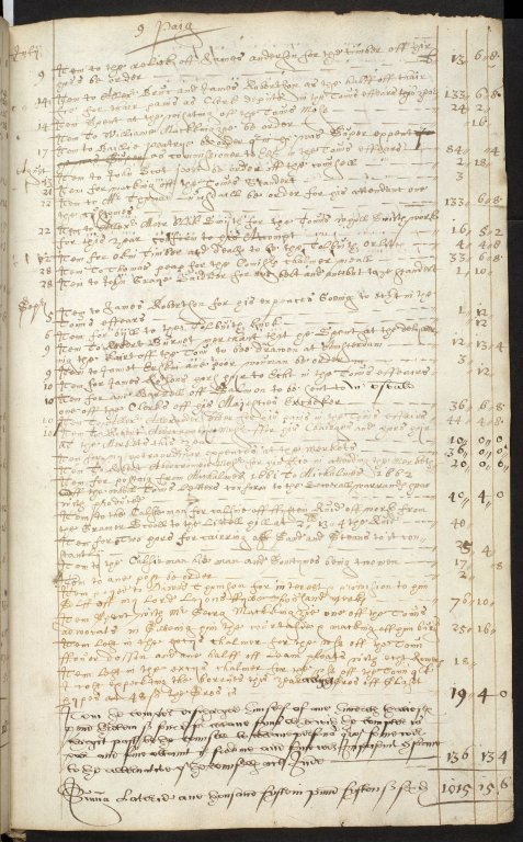 [Extracts from the Guildry accounts of Aberdeen Town Council] [2 of 4]