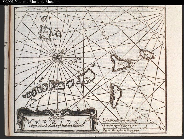 Eylanden van Hebrides Gelegen achter de Noord, west hoeck van Schotlandt [1 of 1]