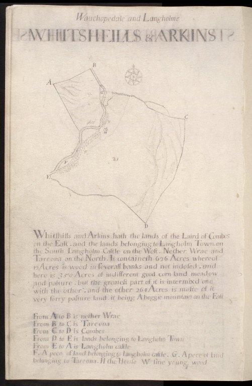 Wauchopedale and Langholme : Whitsheills & Arkins [1 of 1]