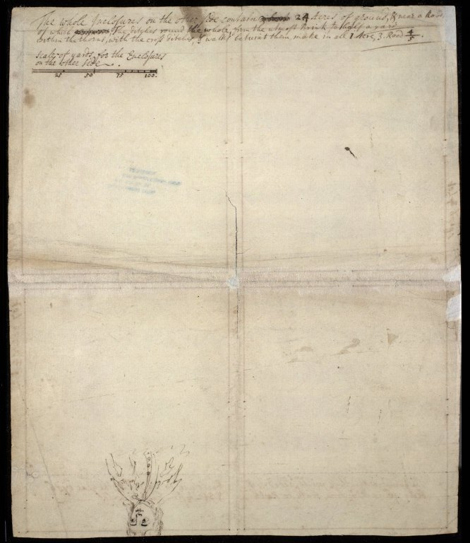 [Plan of four unidentified enclosures] [2 of 2]