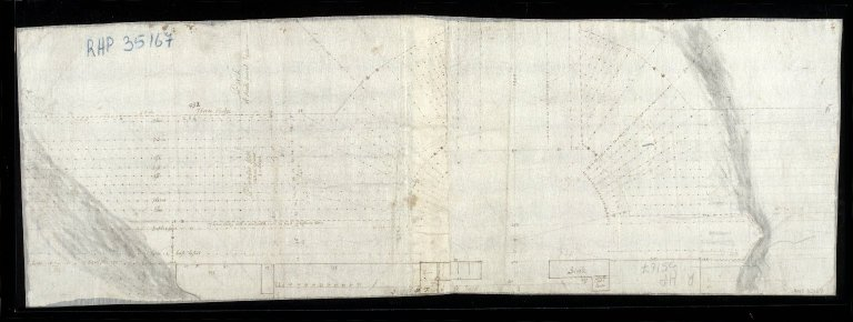 [Plan of the layout of the gardens and parks at Brechin Castle, showing stables , coach house and barns] [1 of 1]