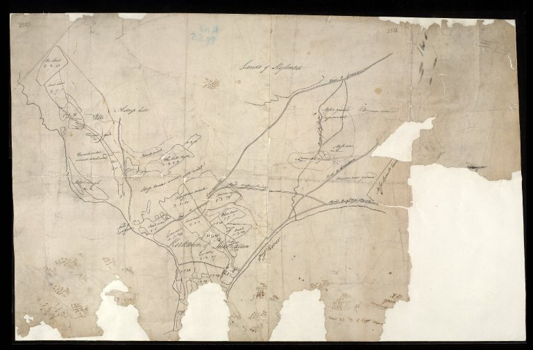 [Sketch plan of Inverallan and Craggan] [1 of 1]