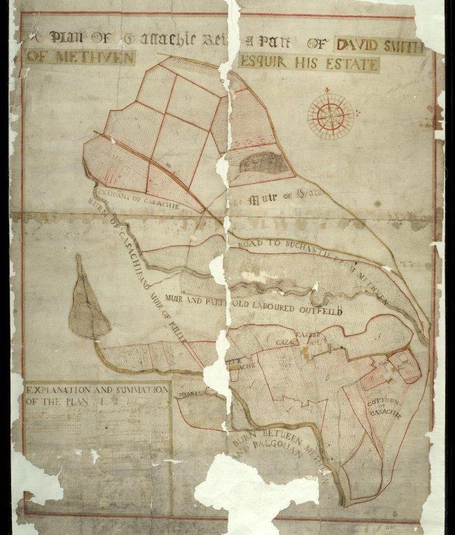 A Plan of Cassachie [1 of 1]
