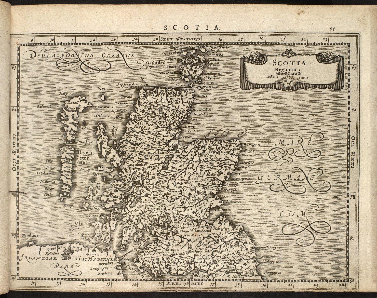 Mercator, Geradi. Atlas sive Cosmographicae Meditationes de Fabrica mundi et fabricati figura. [02 of 14]