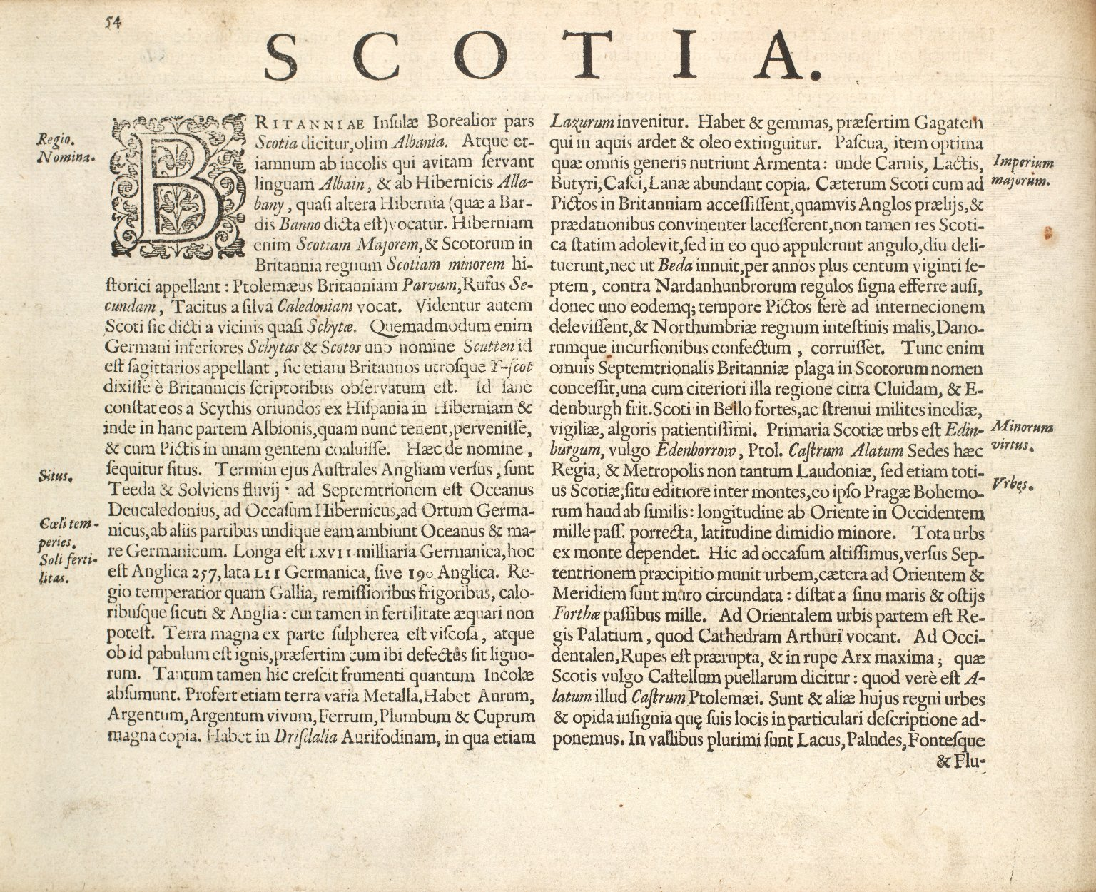 Mercator, Geradi. Atlas sive Cosmographicae Meditationes de Fabrica mundi et fabricati figura. [09 of 14]