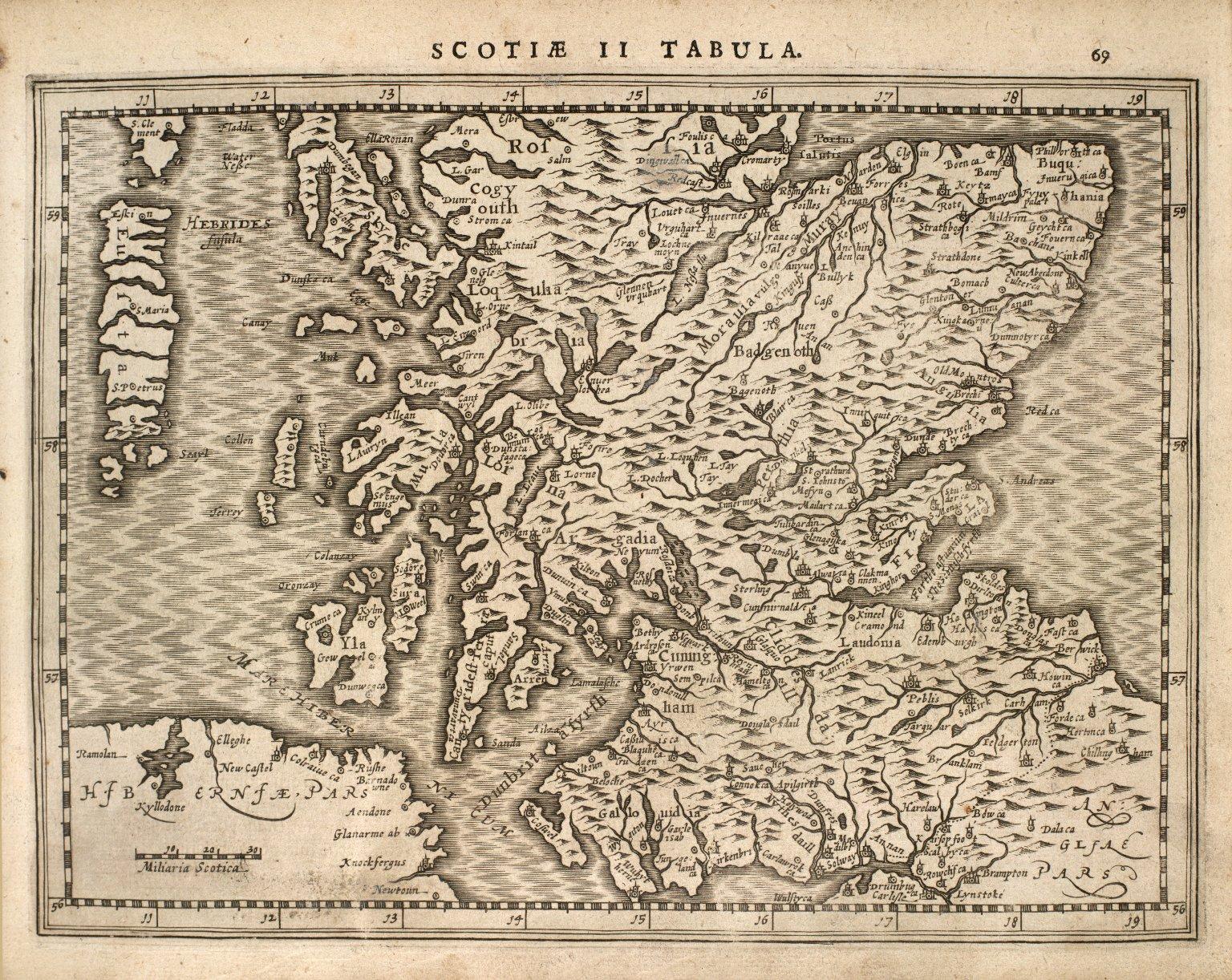 Scotiae II Tabula. [1 of 1]