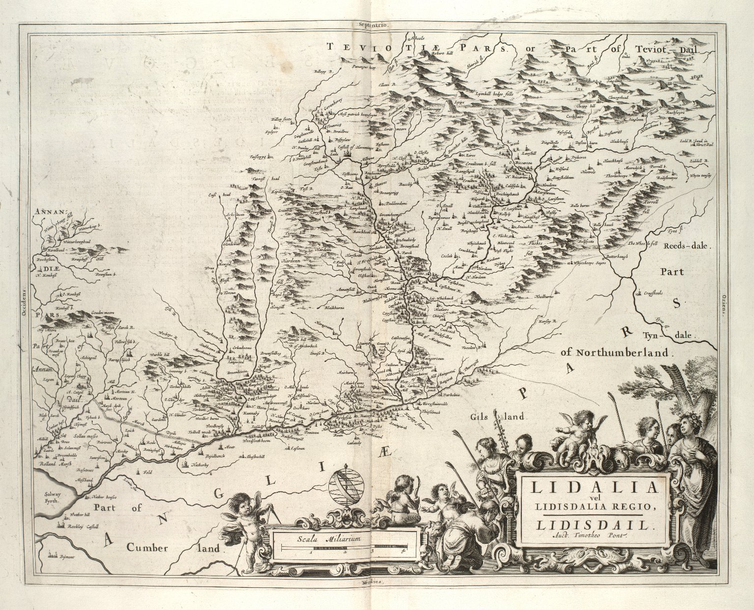 Lidalia vel Lidisdalia regio = Lidisdail [i.e. Liddesdale] [1 of 1]