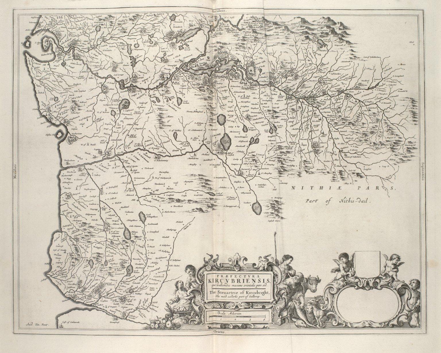 Praefectura Kirkcubriensis, quae Gallovidiae maxime orientalis pars est [1 of 1]