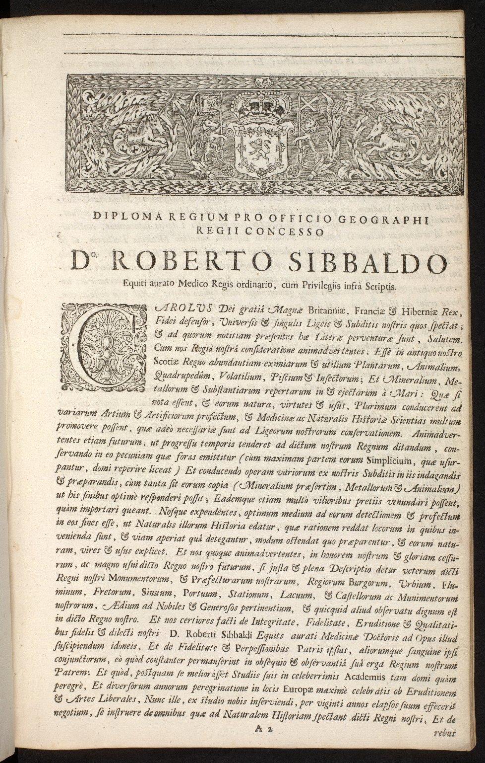 Nuncius Scoto-Britannus, sive admonitio de Atlante Scotico [02 of 18]