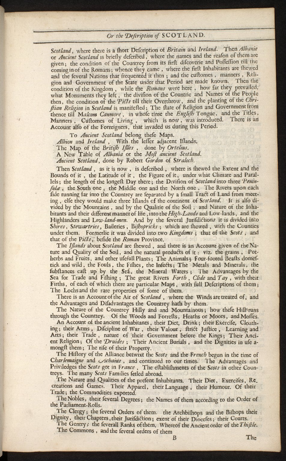 An account of the Scottish atlas or the description of Scotland ancient and modern. [03 of 13]