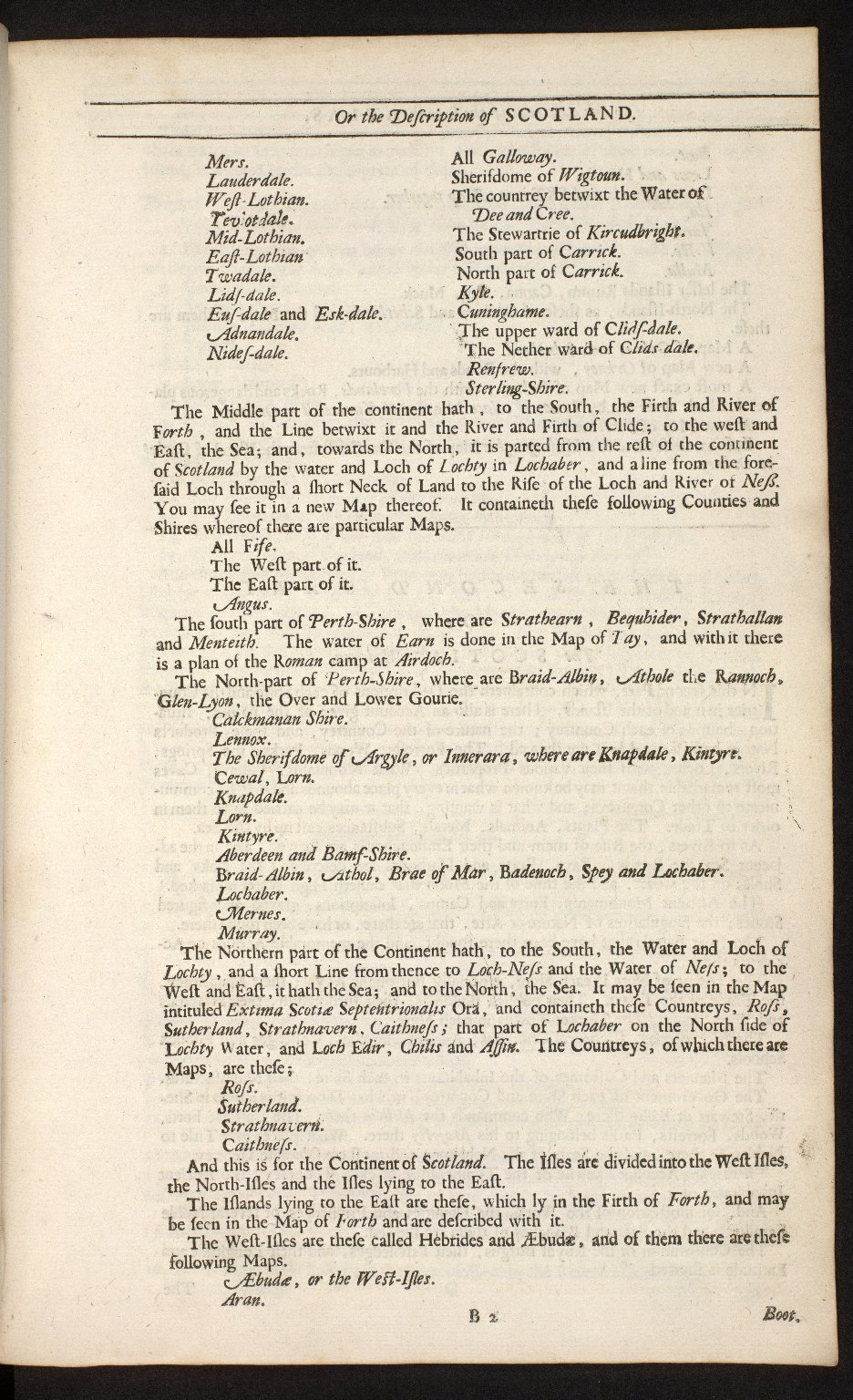 An account of the Scottish atlas or the description of Scotland ancient and modern. [04 of 13]