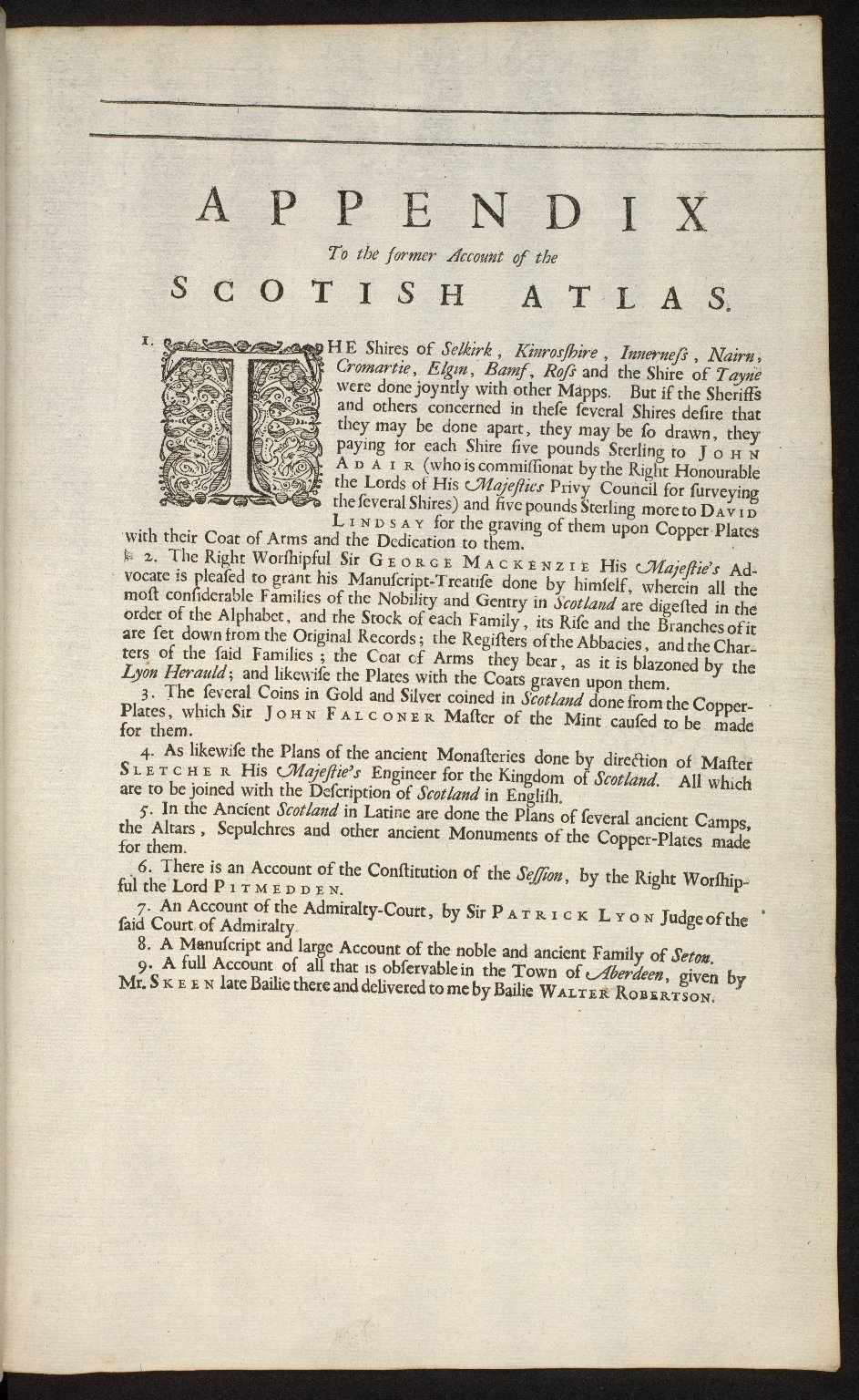 An account of the Scottish atlas or the description of Scotland ancient and modern. [07 of 13]