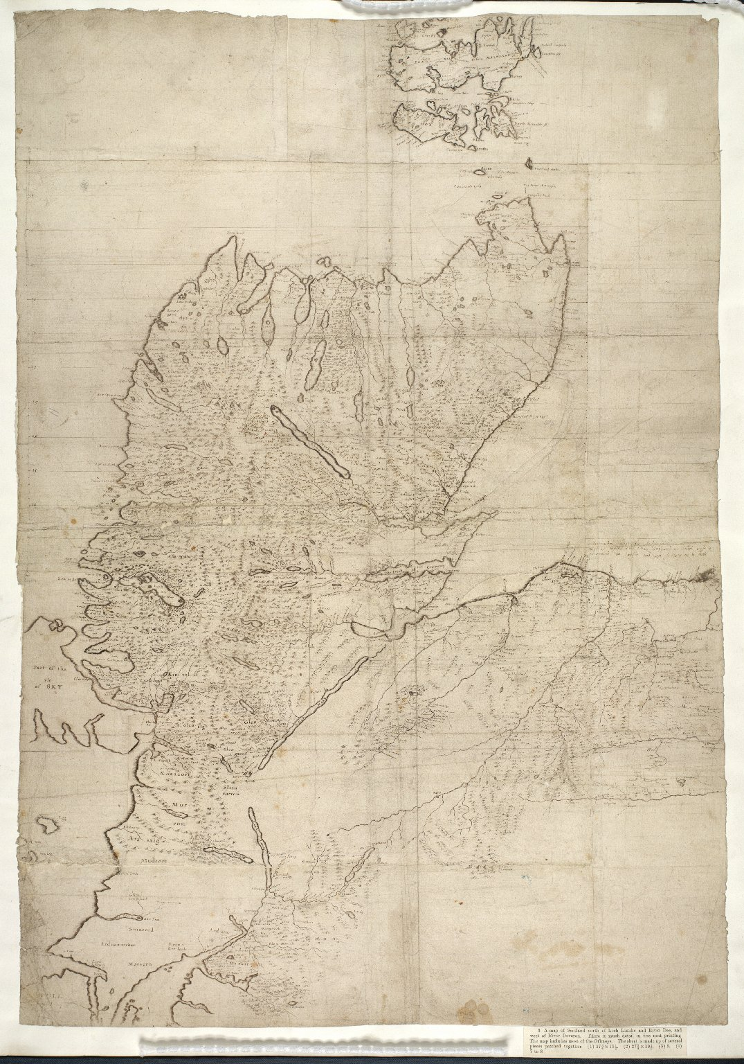 [A map of Scotland north of Loch Linnhe and the River Dee, and west of the River Devron. [3 of 3]