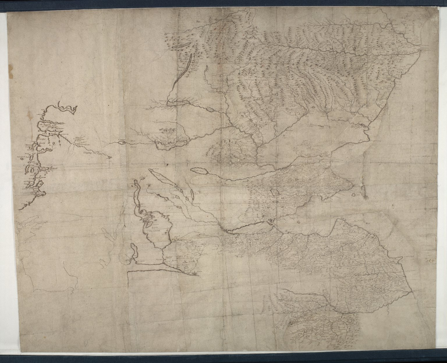 [A map of Eastern Scotland, including basins of Don, Dee, Tay, Forth, and Tweed] [4 of 4]