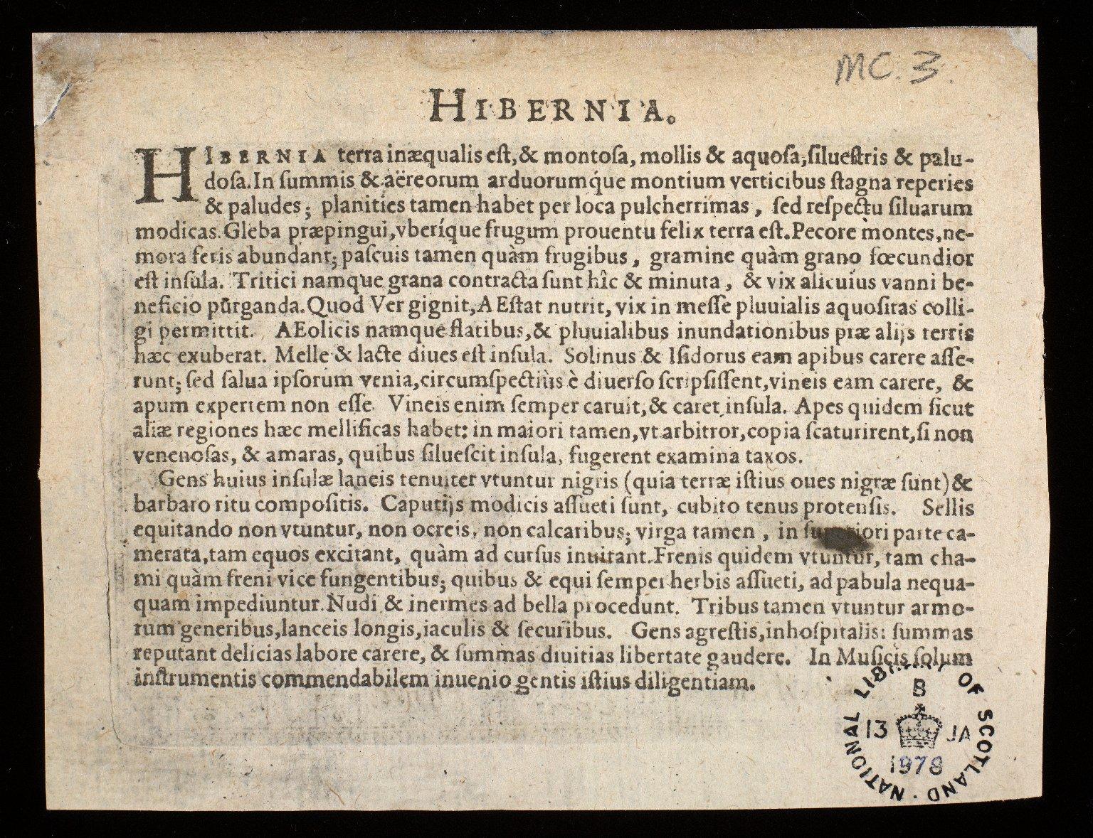 Scotiae descriptio. [2 of 2]