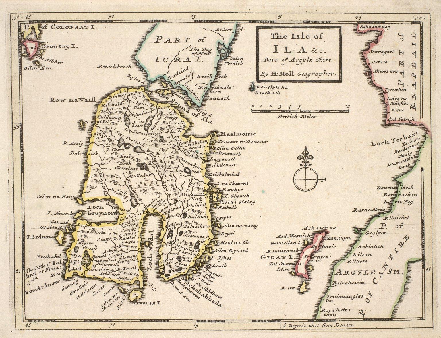 The Isle of Ila &c. Part of Argyle Shire [1 of 1]