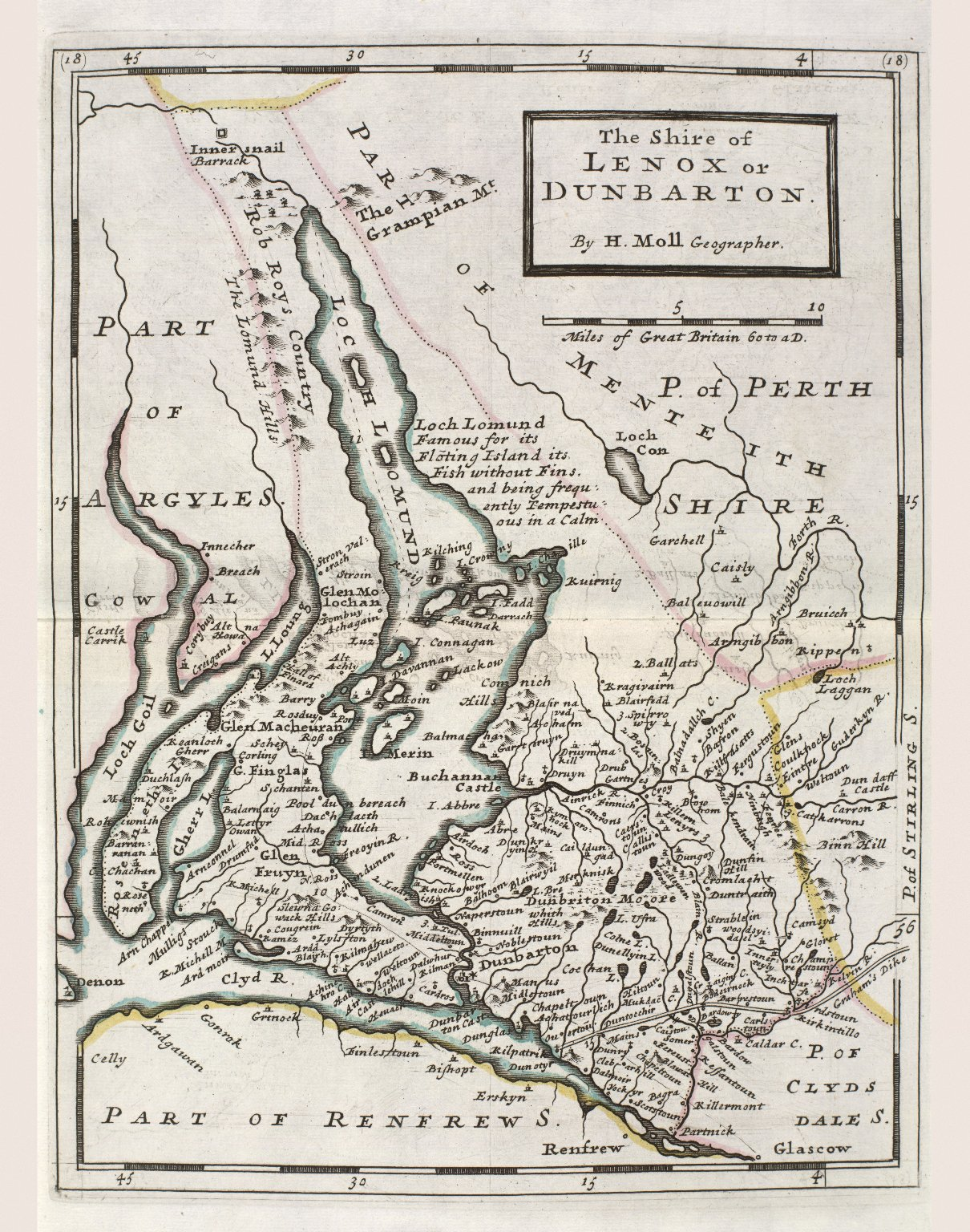 The Shire of Lenox or Dunbarton. [1 of 1]