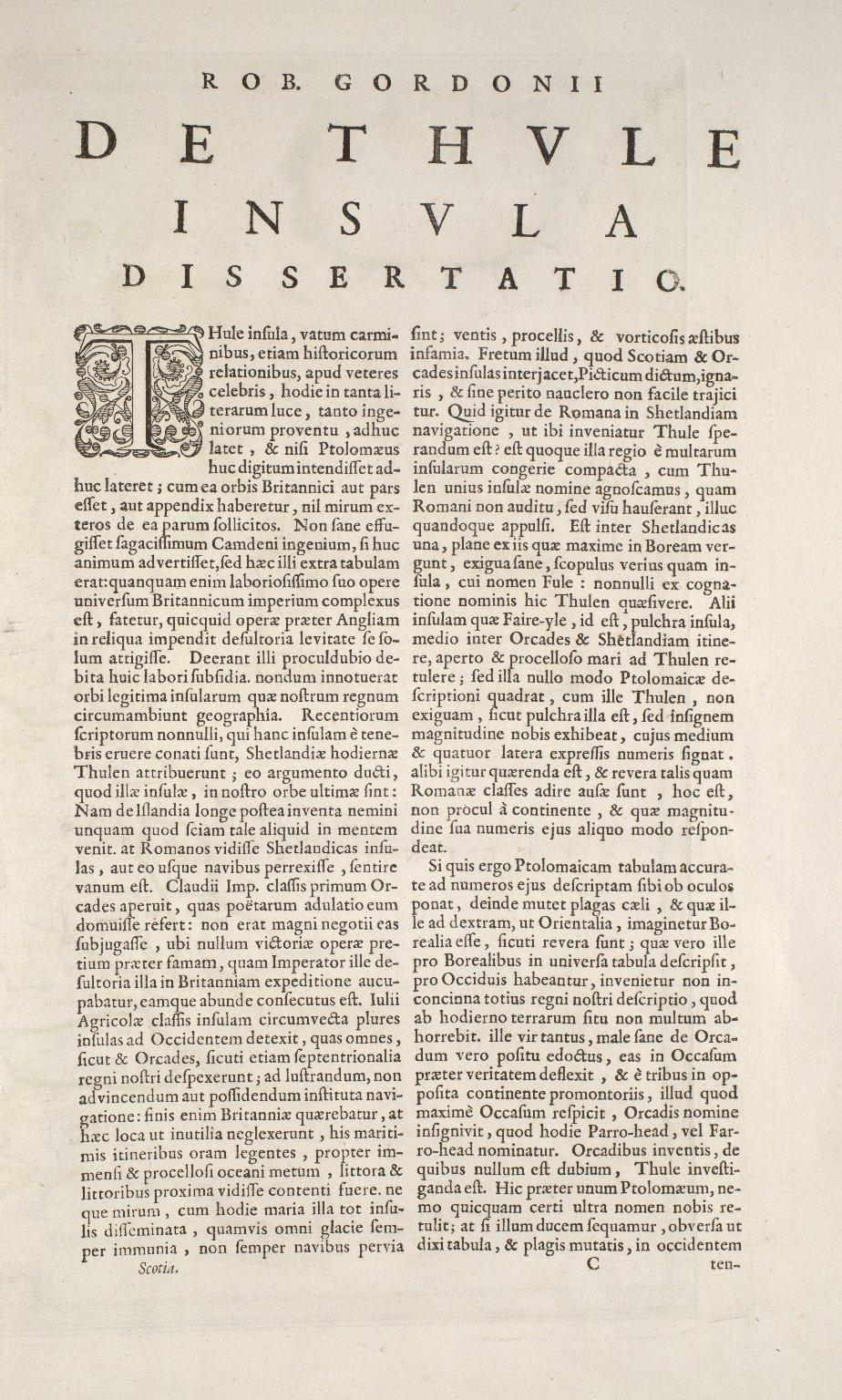 Insululae Albion et Hibernia cum minoribus adjacentibus [2 of 3]
