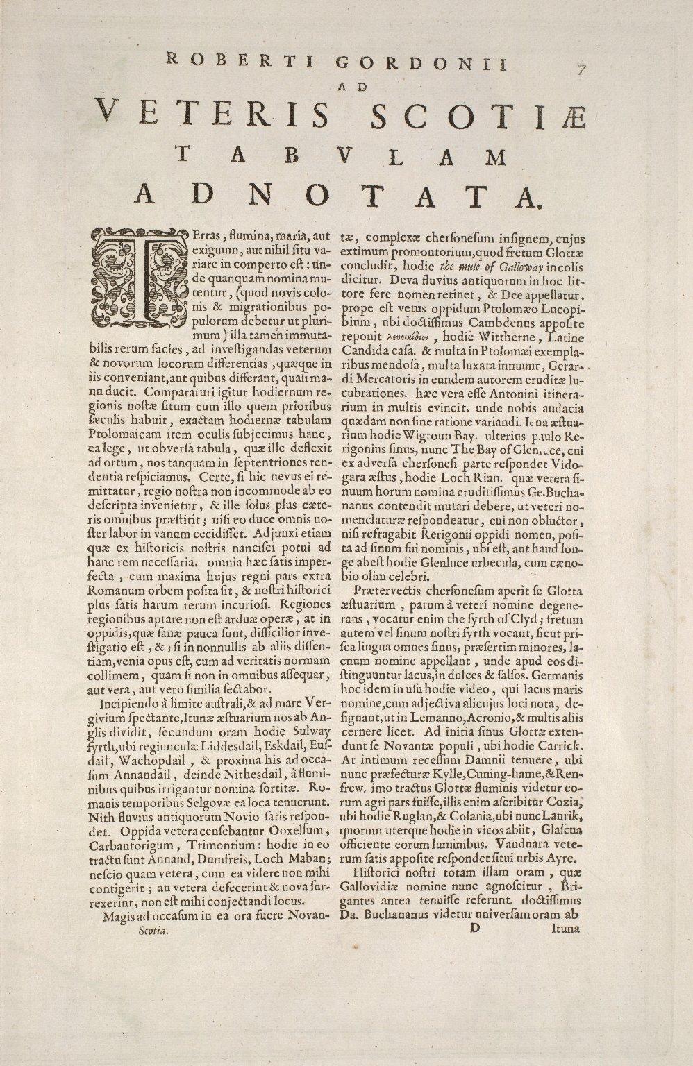 Scotia antiqua : qualis priscis temporibus, Romanis praesertim, cognita fuit quam in lucem eruere conabatur [1 of 3]