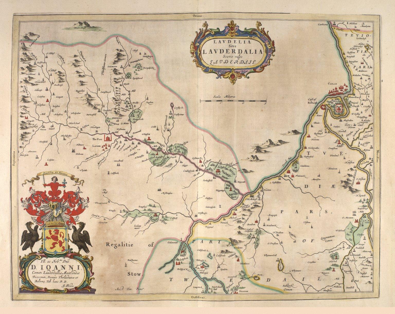 Laudelia sive Lauderdalia Scotis vulgo Lauderdail. [2 of 2]