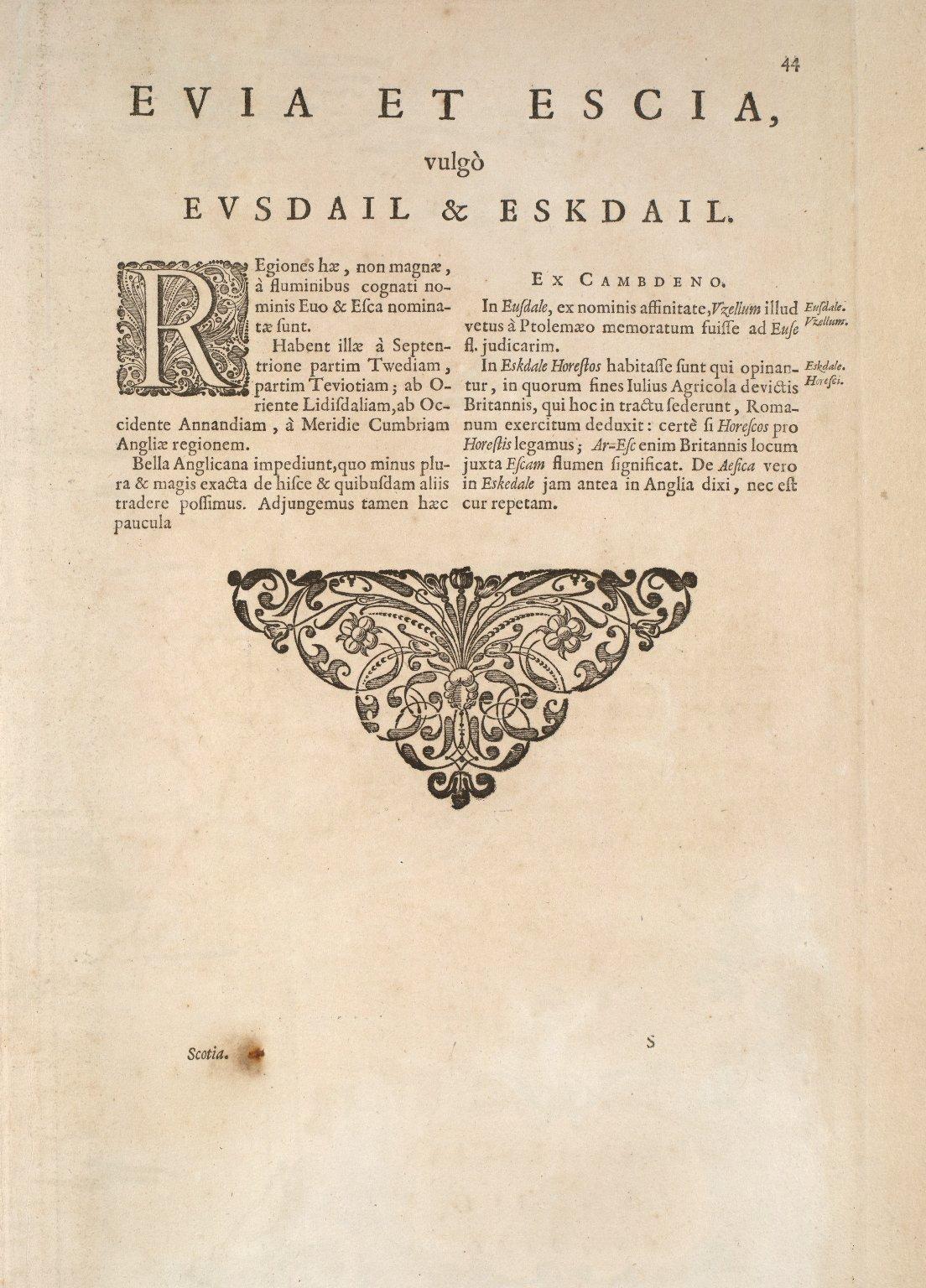 Evia et Escia Scotis, Evsdail et Eskdail [1 of 2]