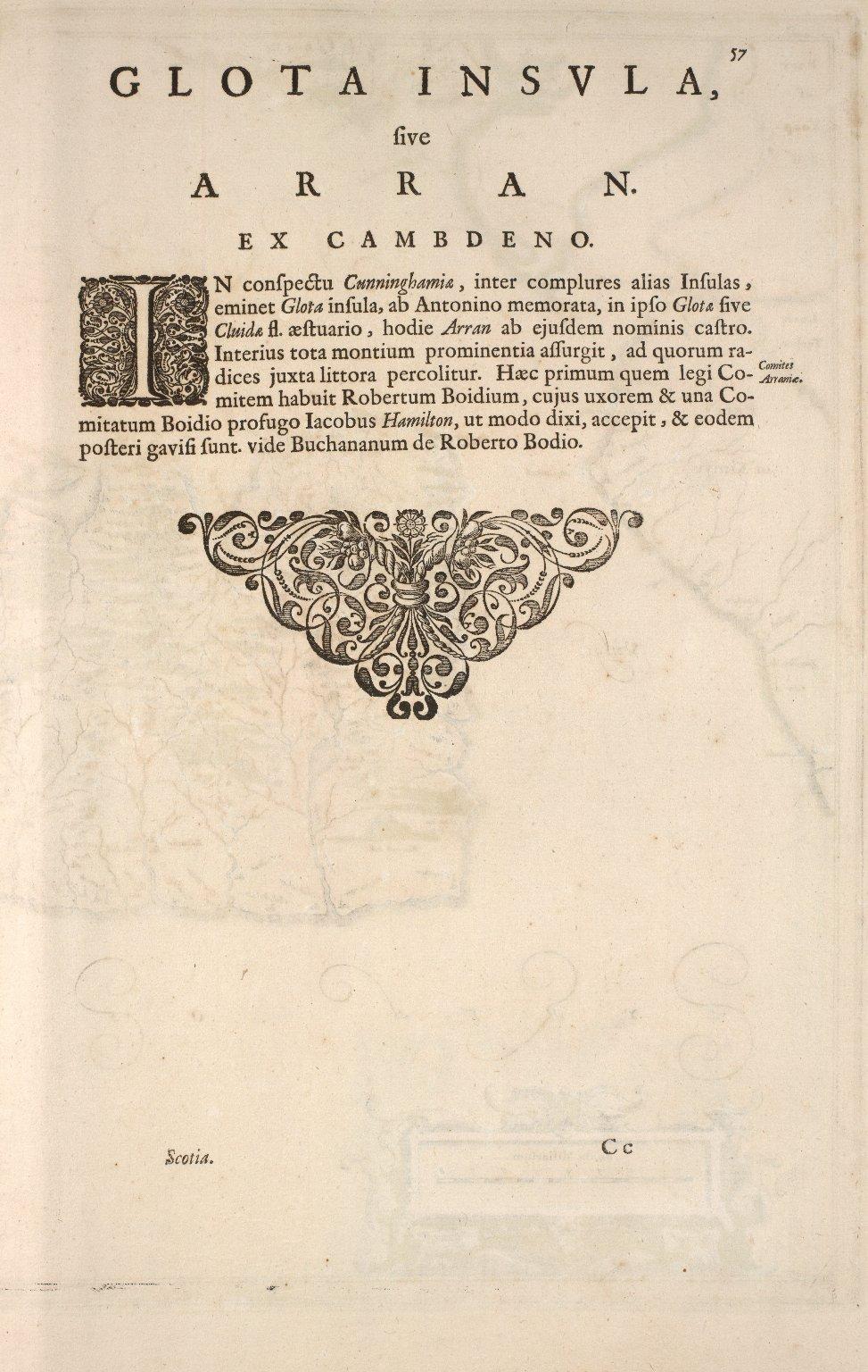 ARANIA / Insula in aestuario Glottae [1 of 2]