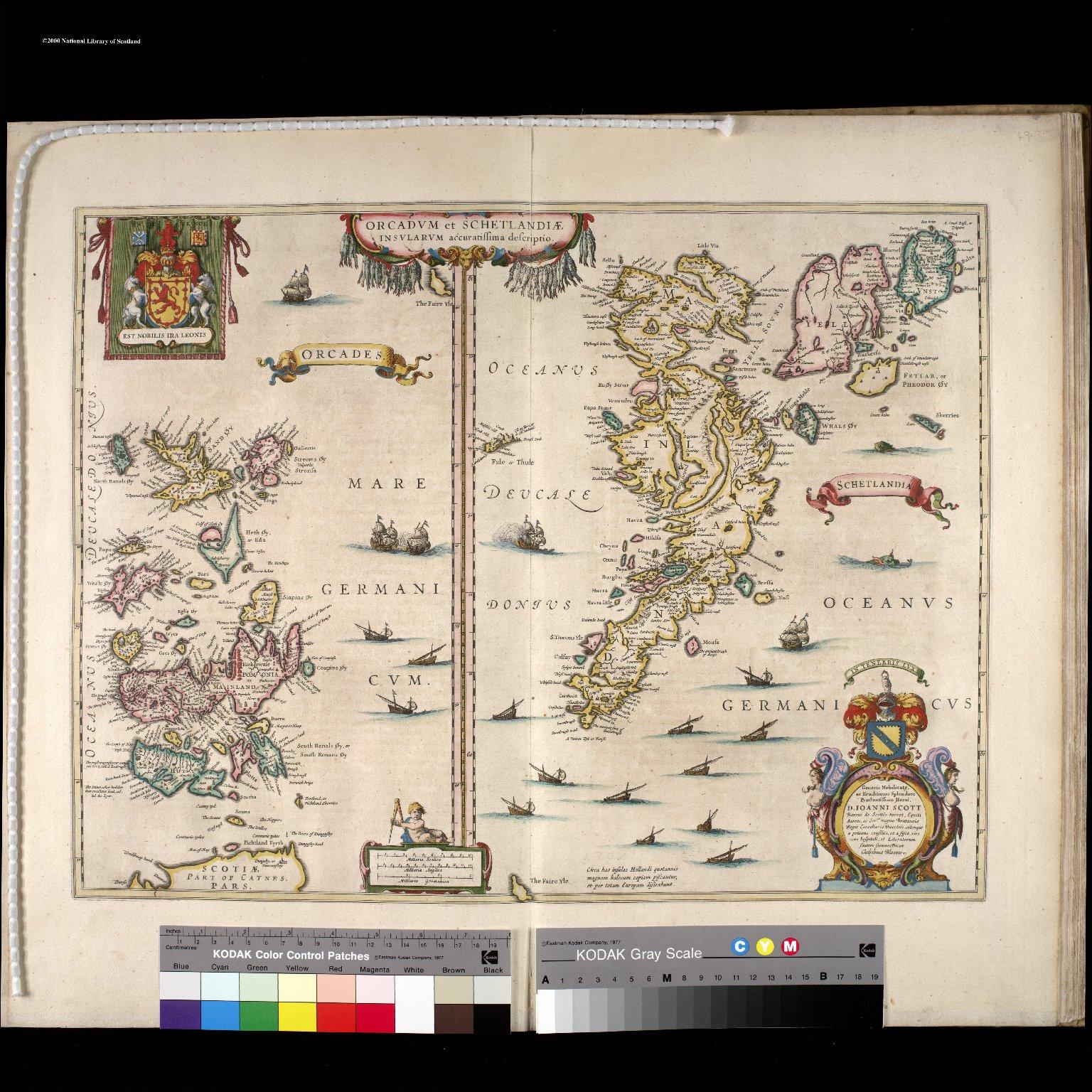 Orcadum et Schetlandiae Insularum accuratissima descriptio. [2 of 3]