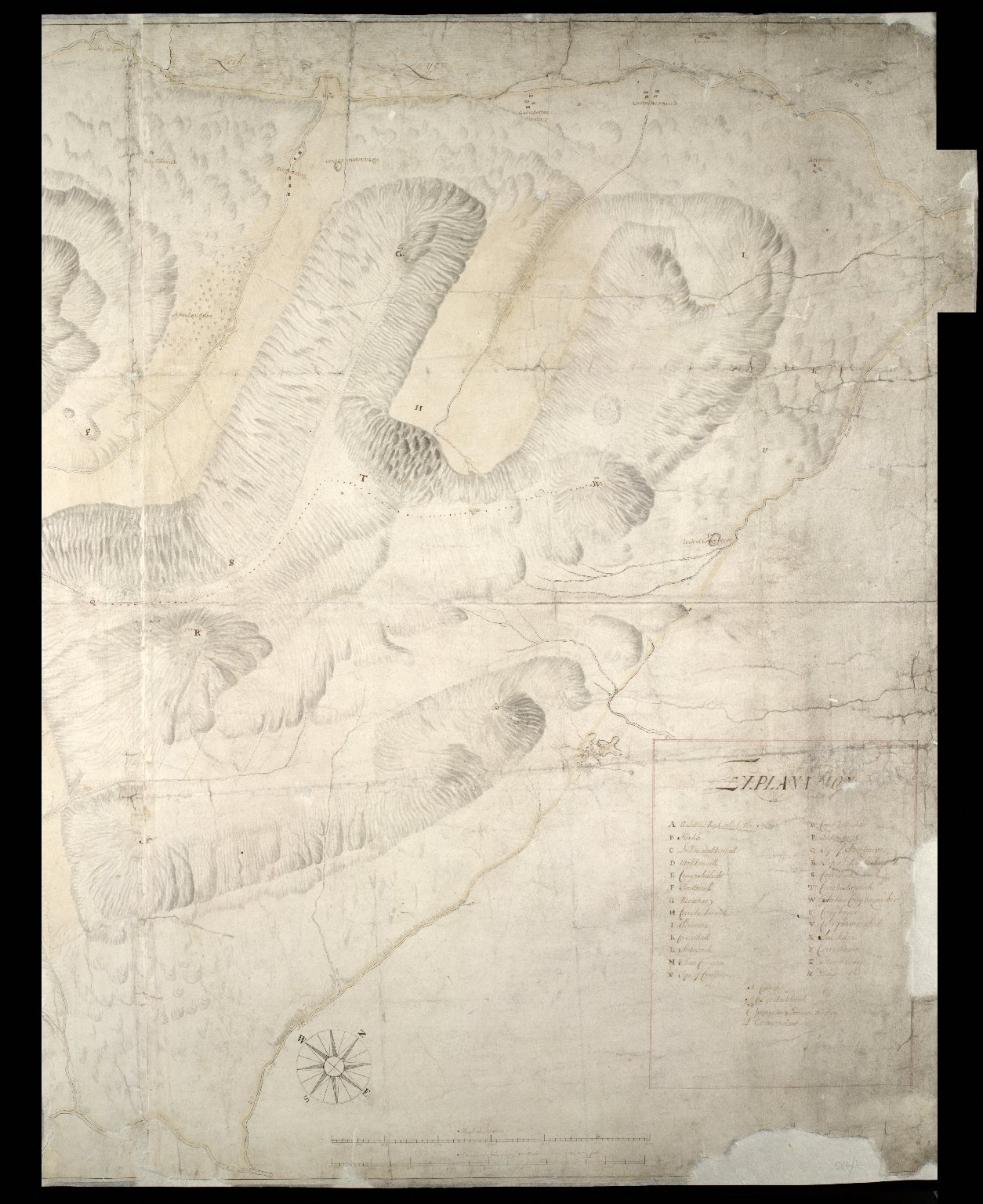 Plan of the Forest of Mamlorn. [1 of 2]