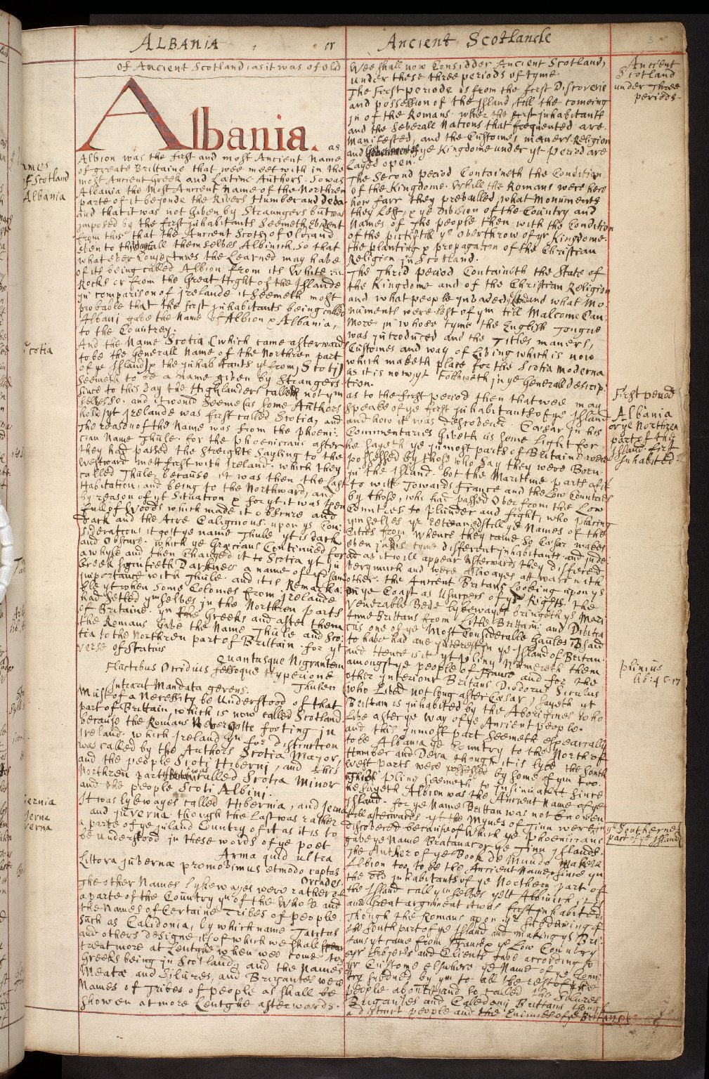 Atlas Scoticus, or a Description of Scotland Ancient and Modern. [004 of 259]