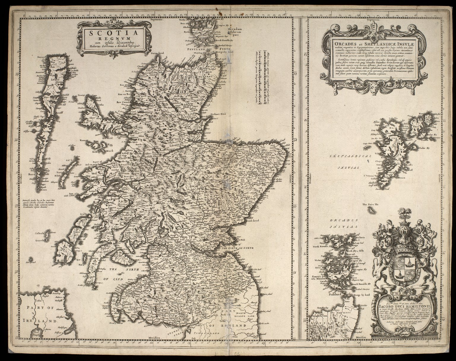 Atlas Scoticus, or a Description of Scotland Ancient and Modern. [013 of 259]