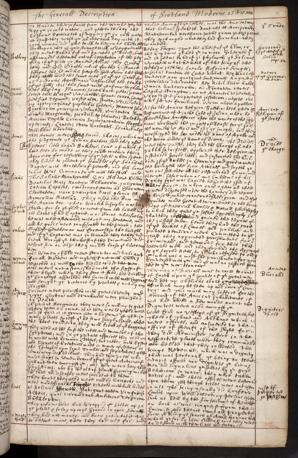 Atlas Scoticus, or a Description of Scotland Ancient and Modern. [024 of 259]