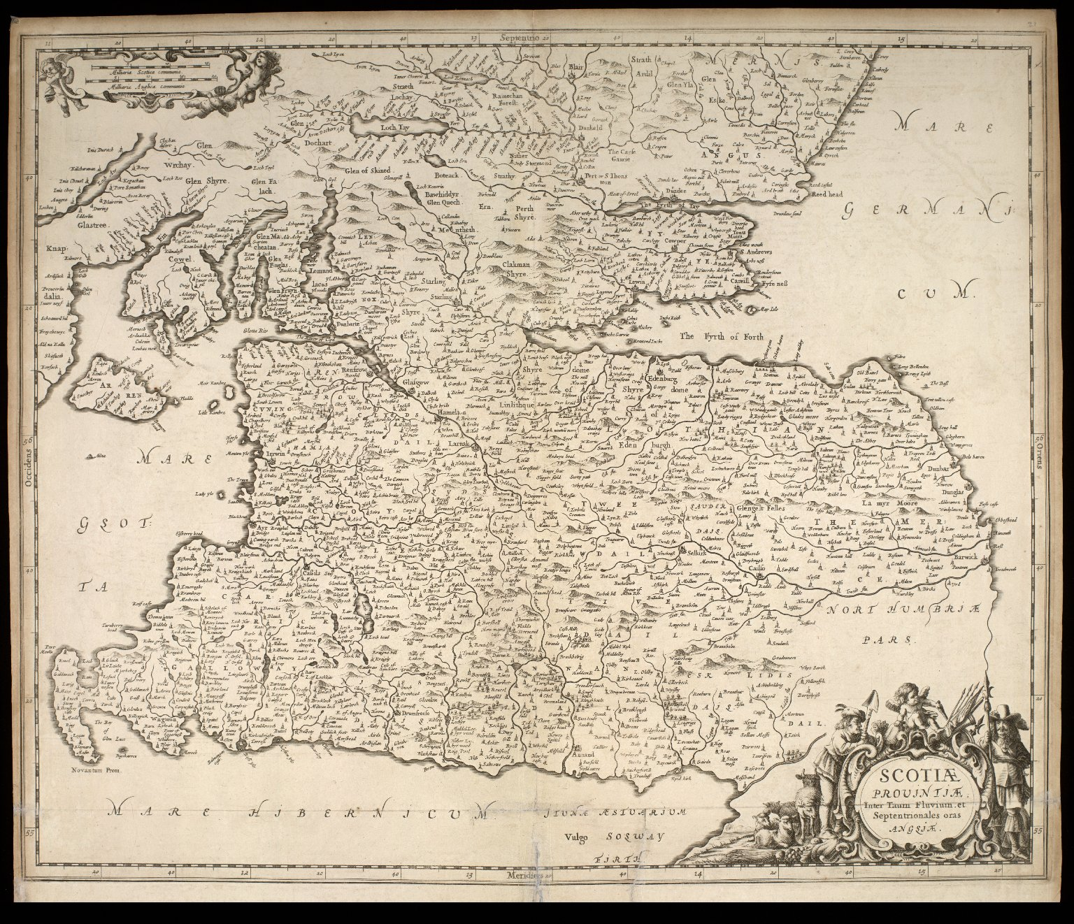 Atlas Scoticus, or a Description of Scotland Ancient and Modern. [026 of 259]