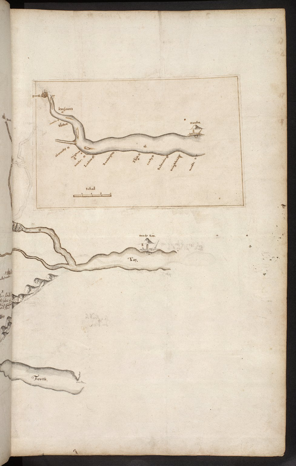 Atlas Scoticus, or a Description of Scotland Ancient and Modern. [037 of 259]