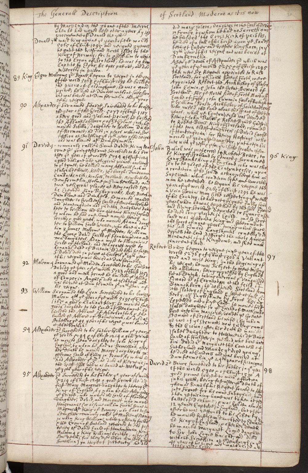 Atlas Scoticus, or a Description of Scotland Ancient and Modern. [043 of 259]