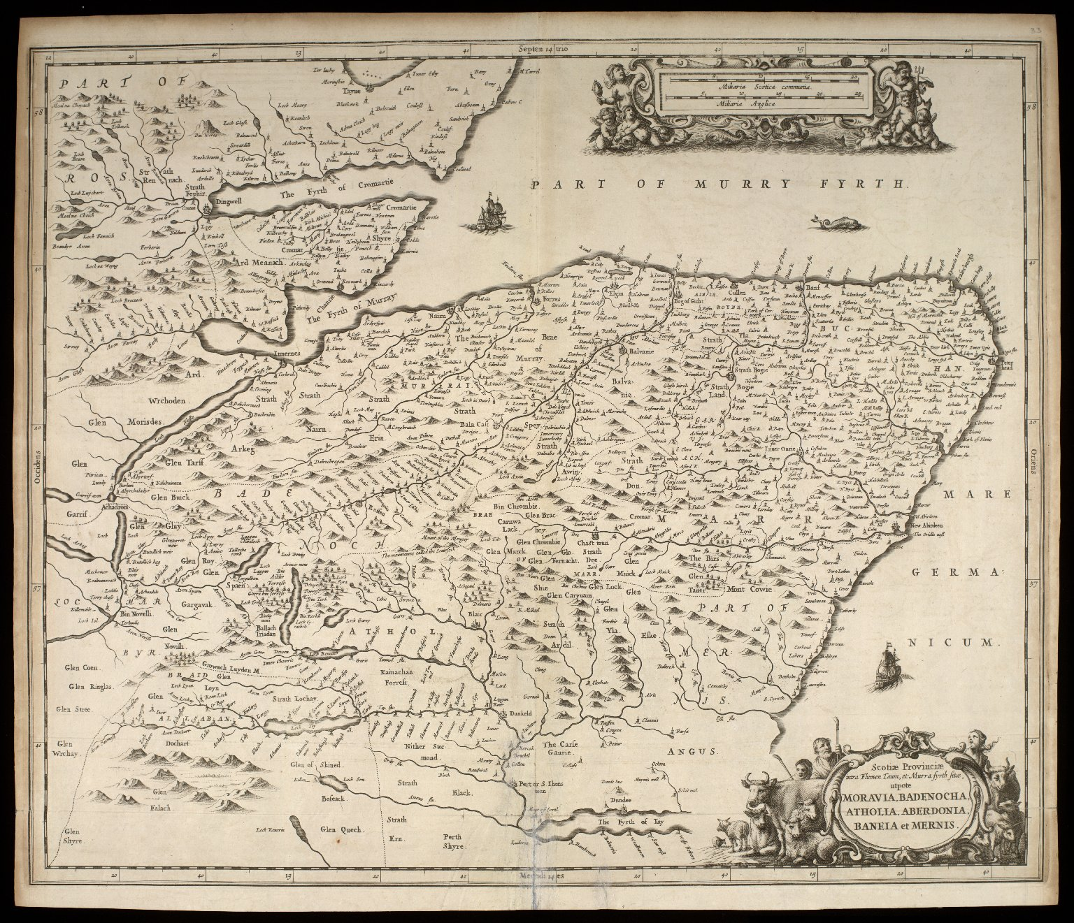 Atlas Scoticus, or a Description of Scotland Ancient and Modern. [047 of 259]