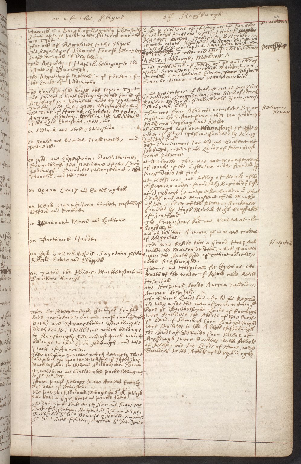 Atlas Scoticus, or a Description of Scotland Ancient and Modern. [066 of 259]