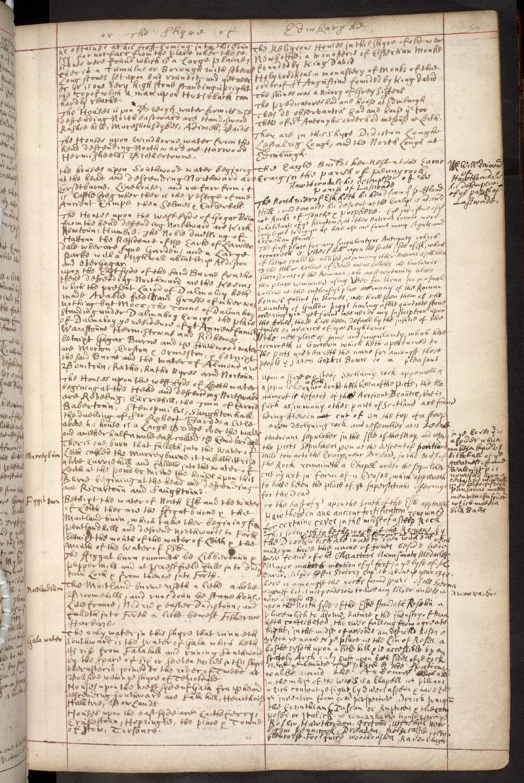 Atlas Scoticus, or a Description of Scotland Ancient and Modern. [076 of 259]
