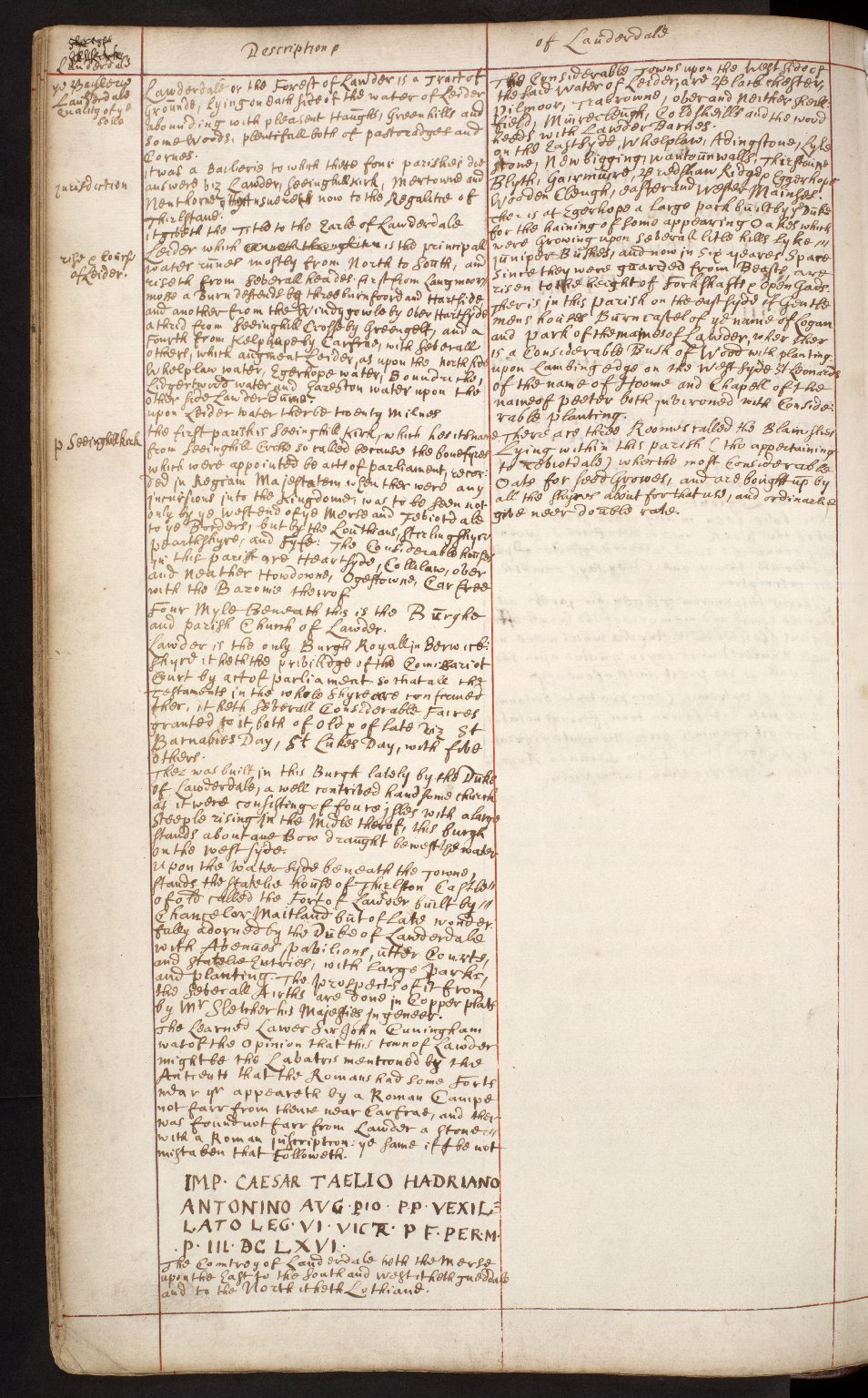 Atlas Scoticus, or a Description of Scotland Ancient and Modern. [084 of 259]