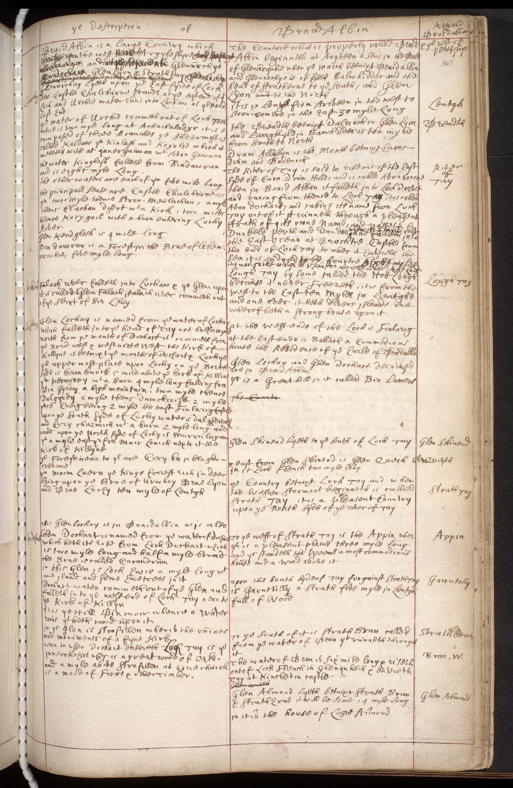 Atlas Scoticus, or a Description of Scotland Ancient and Modern. [171 of 259]