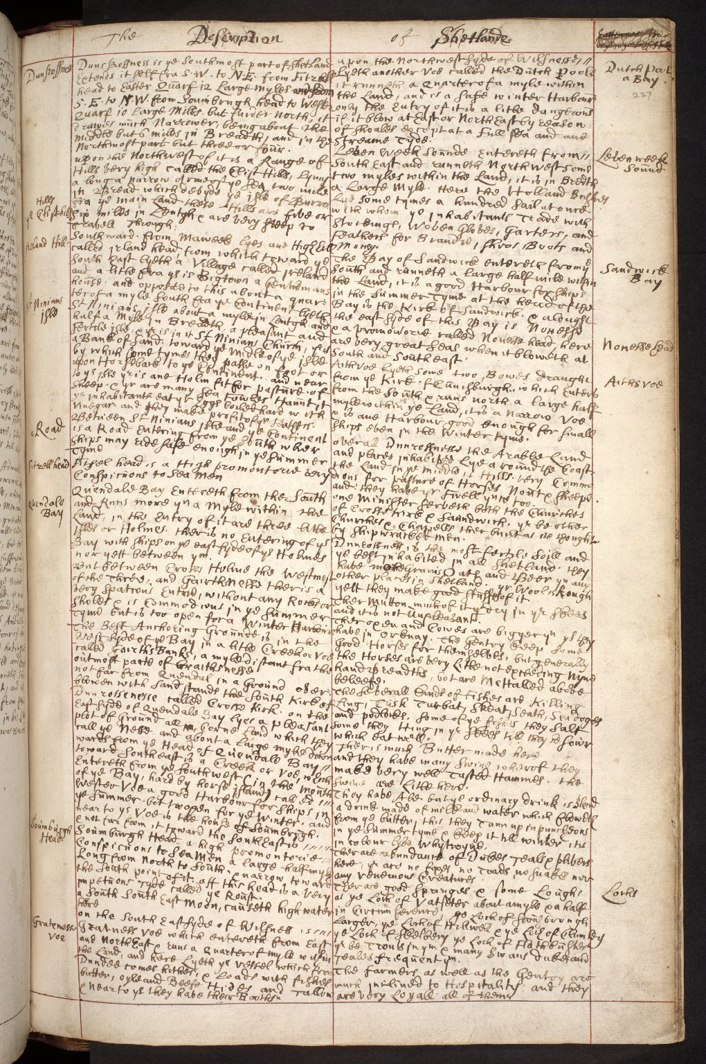 Atlas Scoticus, or a Description of Scotland Ancient and Modern. [251 of 259]
