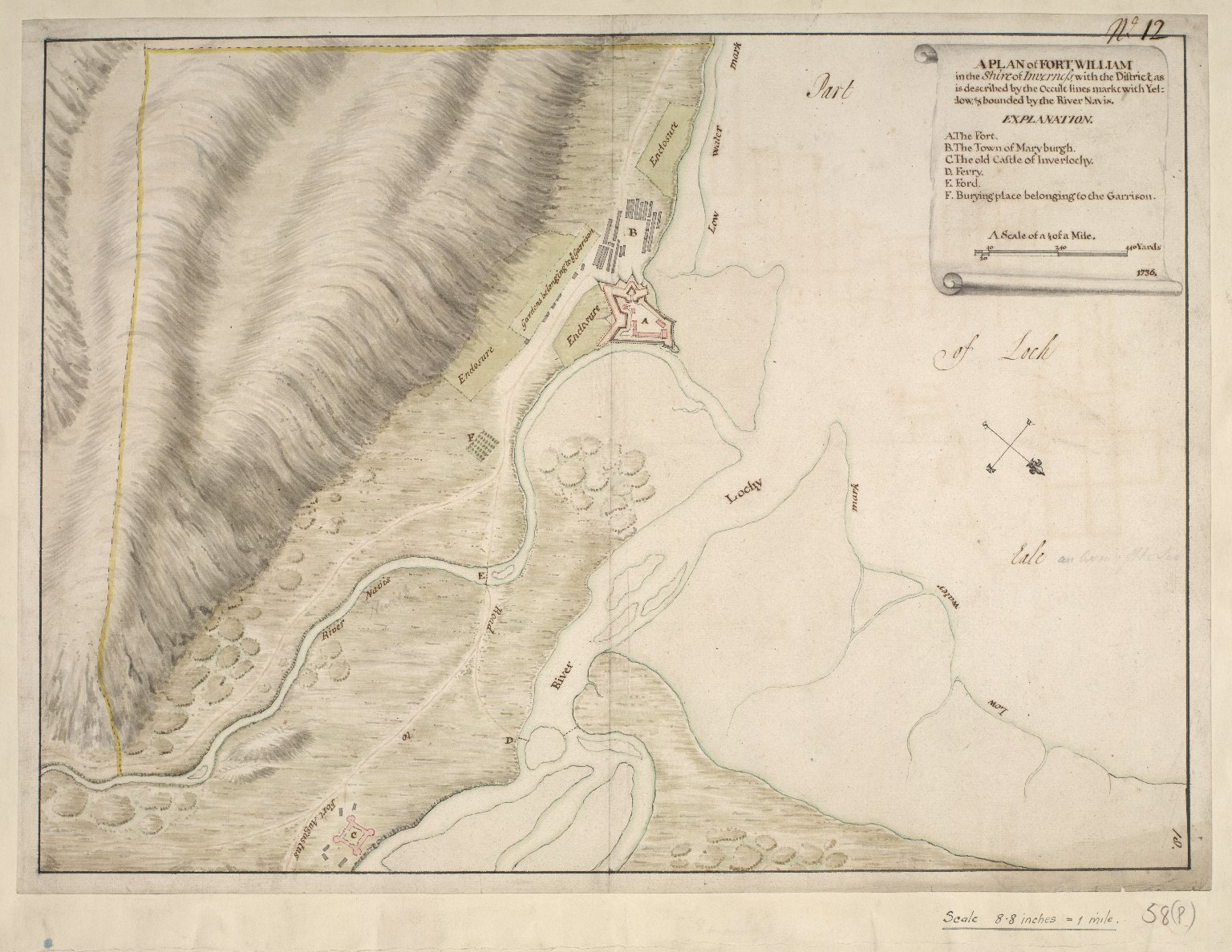 A plan of Fort William [1 of 1]