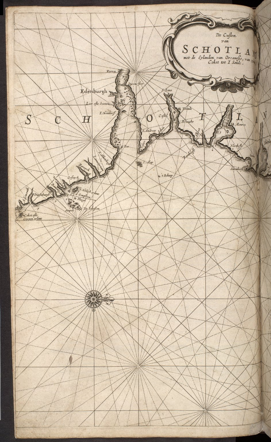 The Lighting Colomne or Sea-Mirrour, containing The Sea-Coasts of the Northern, Eastern and Western Navigation; ... [02 of 11]
