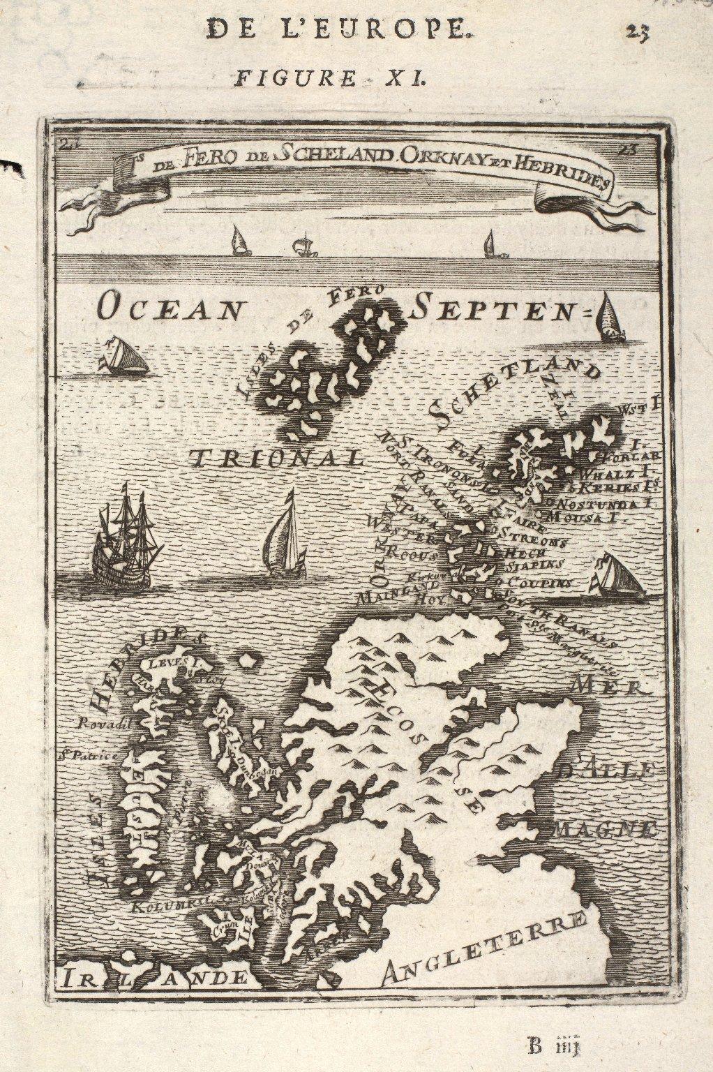 Is de Fero de Scheland, Orknay et Hebrides. [1 of 2]