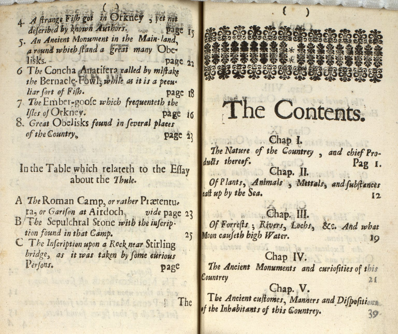A description of the Isles of Orkney; [6 of 6]