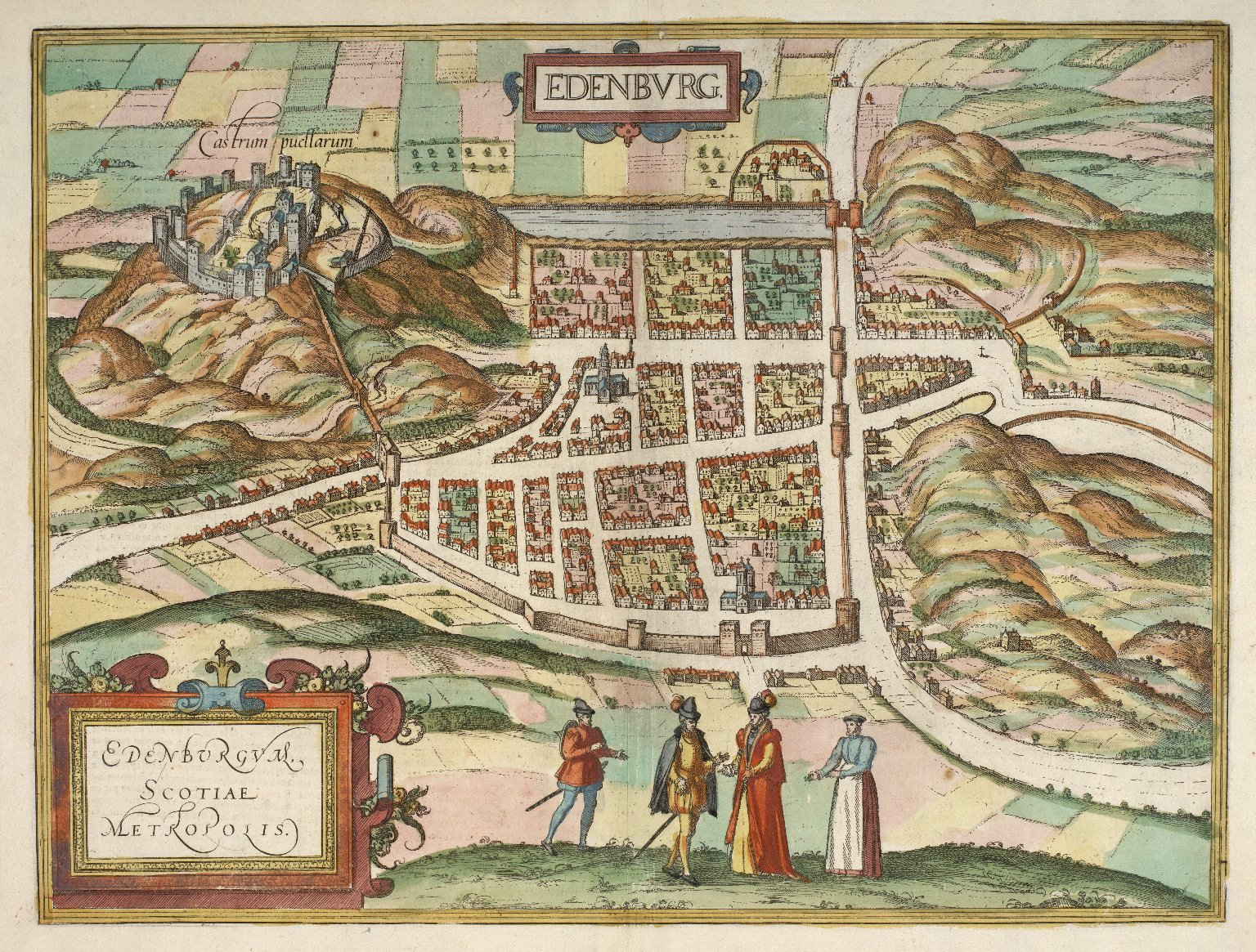 Edenburgum, Scotiae Metropolis [1 of 2]