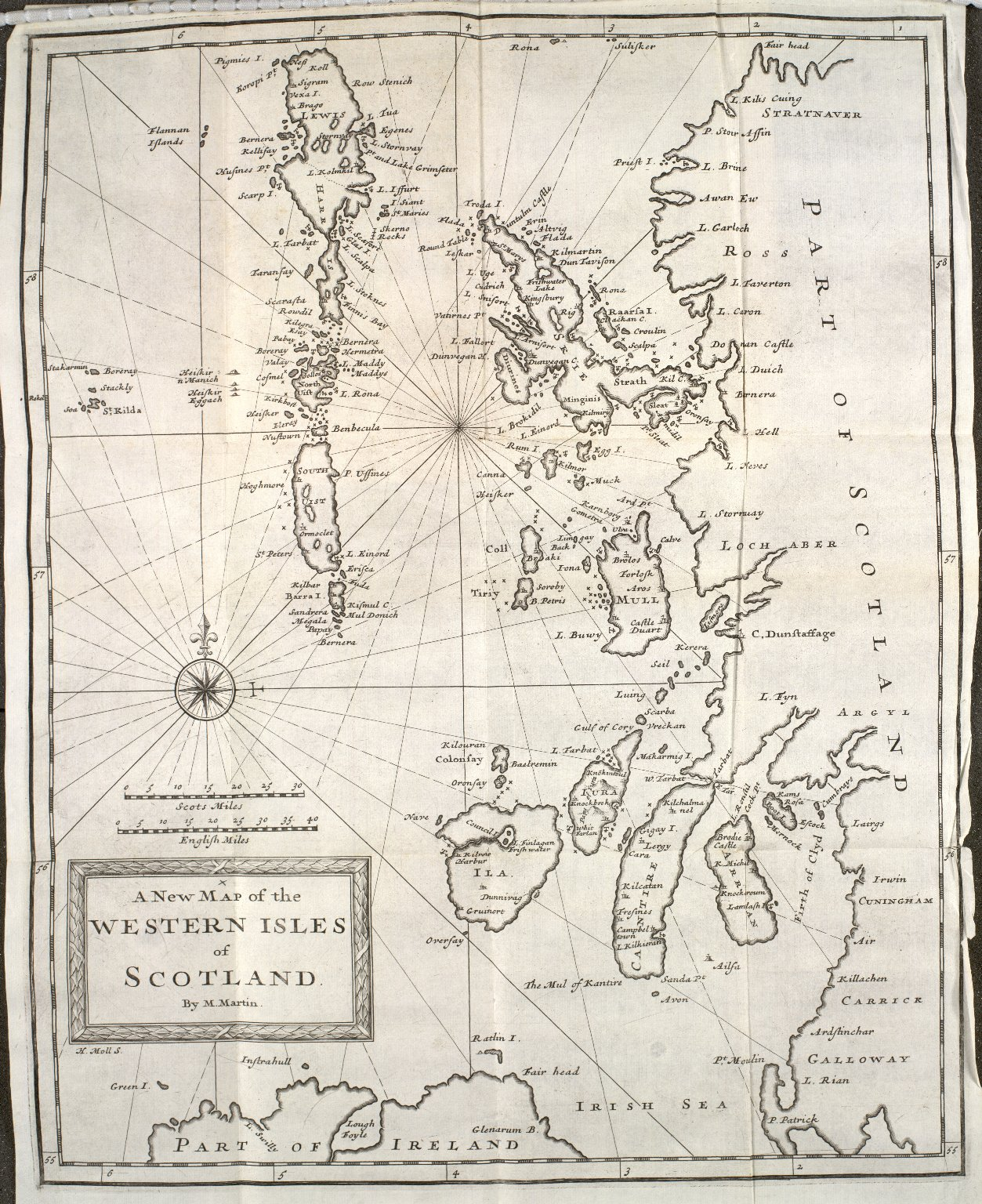 A New Map of the Western Isles of Scotland [1 of 1]