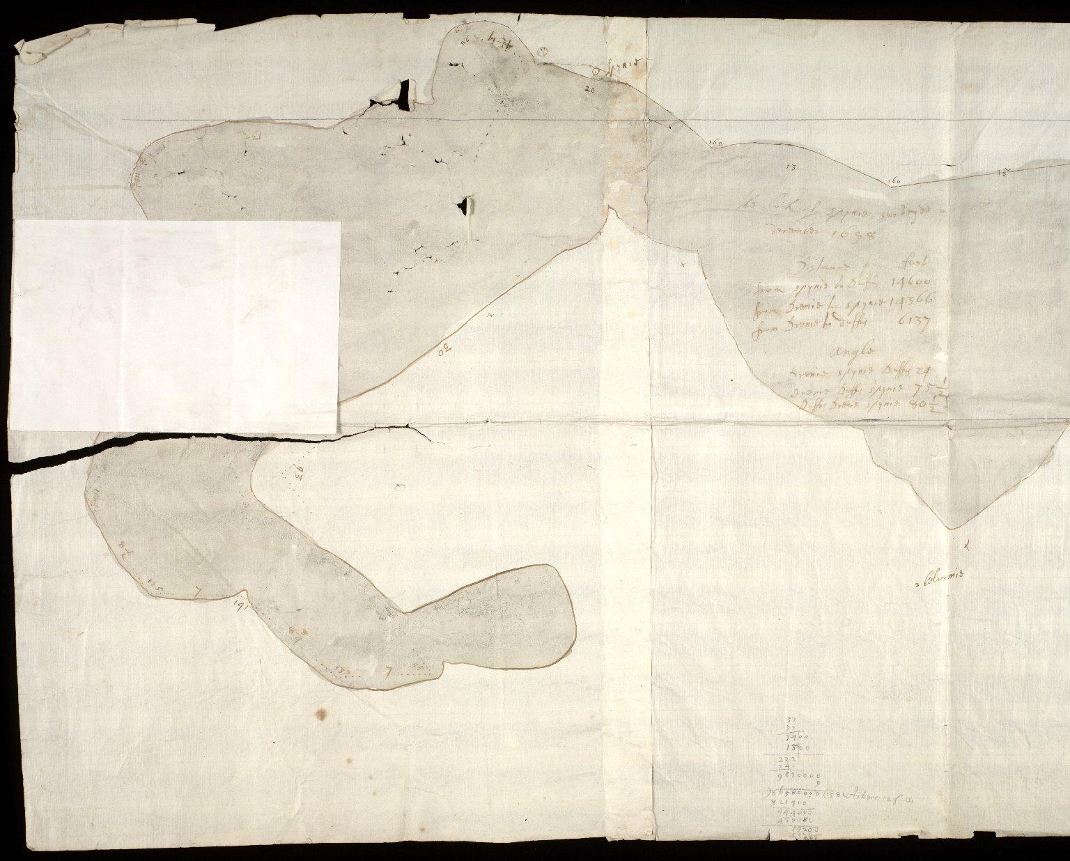 [Sketch of Loch Spynie] [2 of 2]