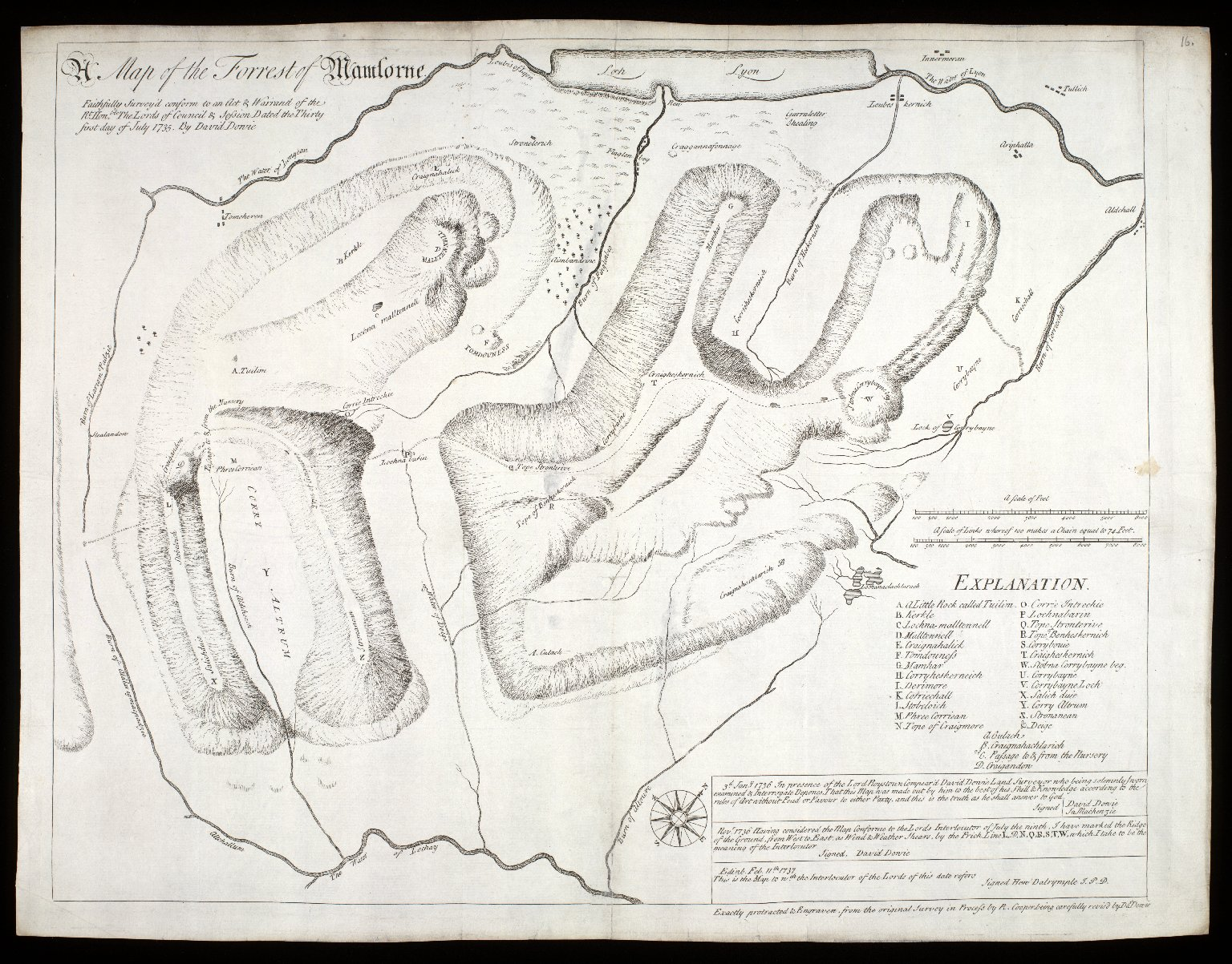 A map of the Forrest Mamlorne [1 of 1]